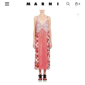 Gorgeous Marni dress Spring/Summer 2018